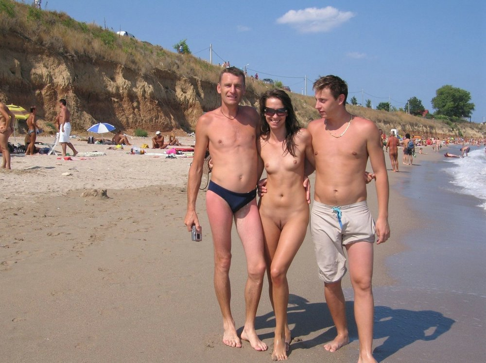 60nackt Naked outdoor,